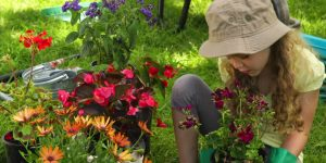 Jardiner à la campagne