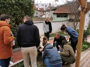 ateliers de jardinage en entreprise